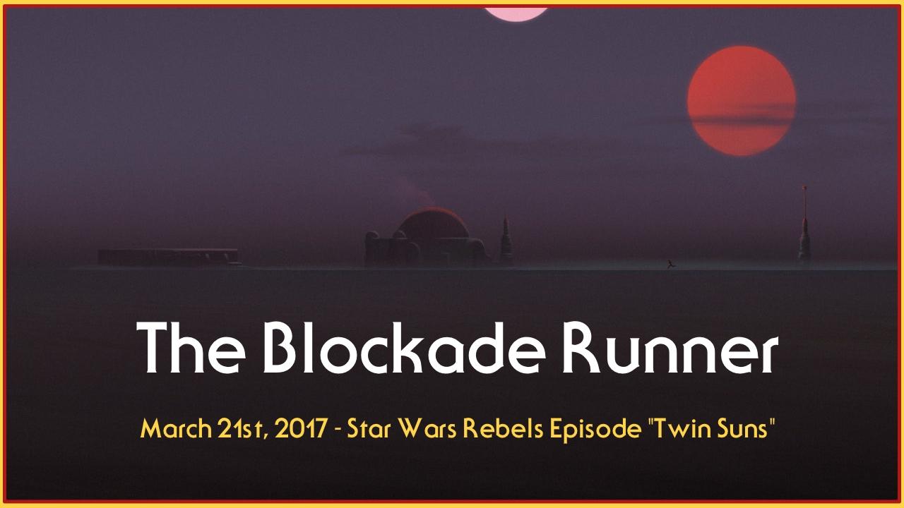 Blockade Runner Podcast March 21