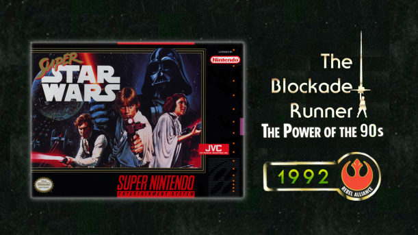 Power of the 90s Super Star Wars Cover Art