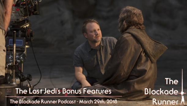 TLJ Bonus Features Cover